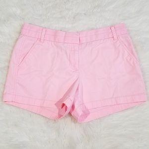 "J.Crew chino pink 3.1/2"" short. Size 6"